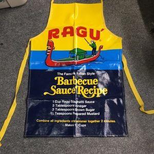 Vintage Ragu Cooking Apron